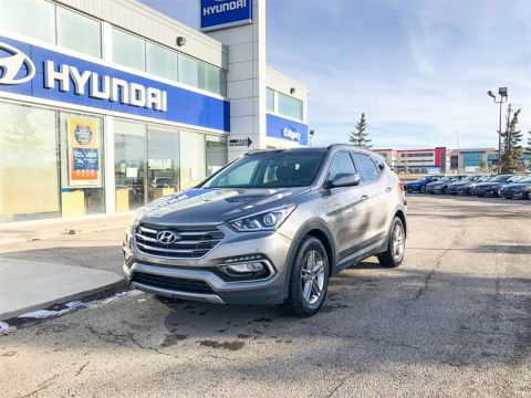 Pre-Owned 2017 Hyundai Santa Fe Sport AWD 2.4L Luxury All Wheel Drive SUV