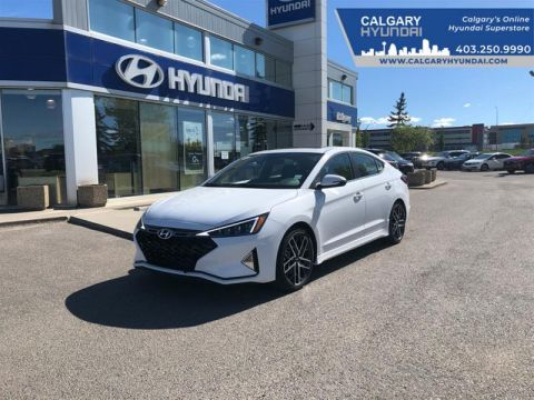 New 2020 Hyundai Elantra Sedan Sport - DCT Front Wheel Drive 4-Door Sedan